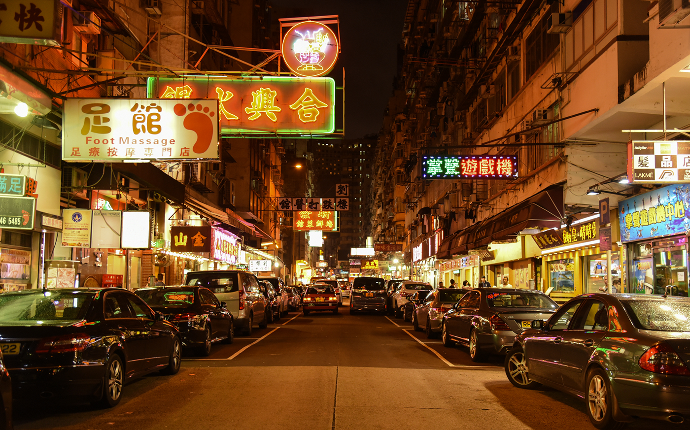 city asia lights Street Travel neon buildings architecture