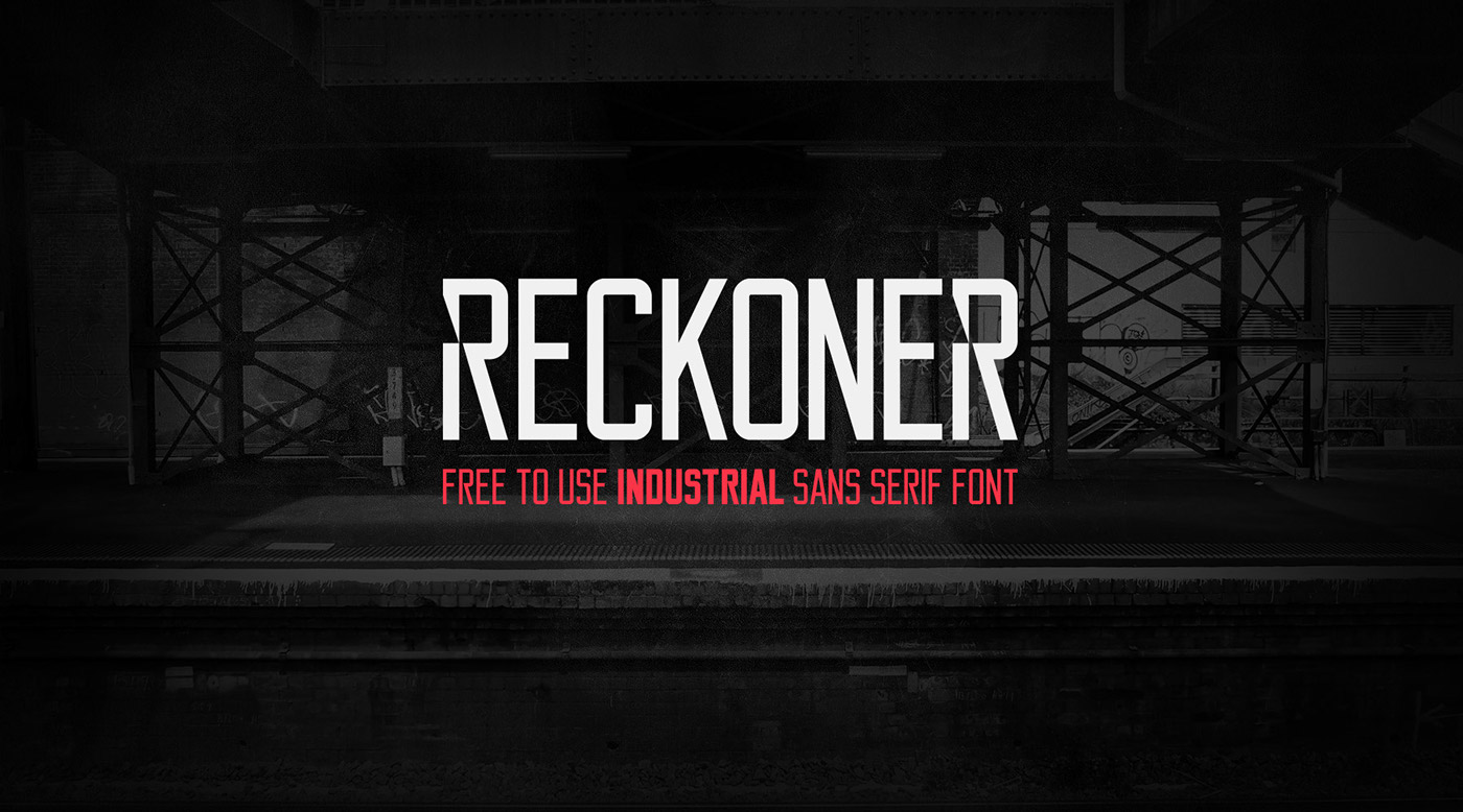 font free download commercial personal use condesned condensed sans serif bold modern Typeface