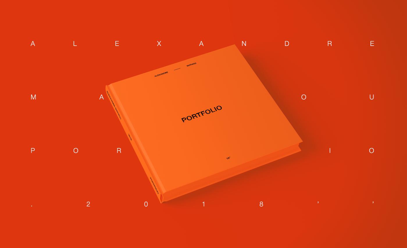 有獨特感的47套作品集portfolio欣賞