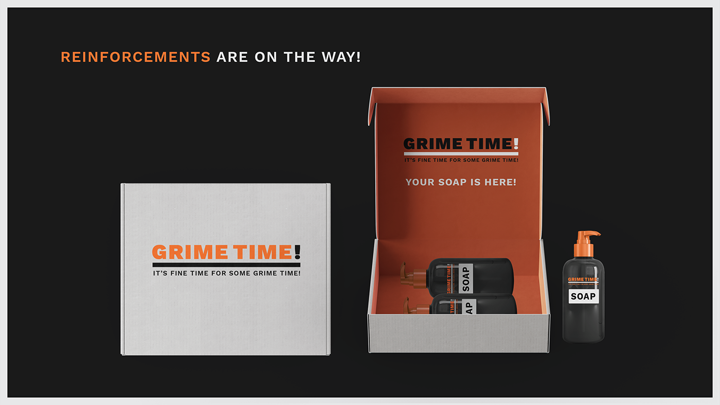 grime time GrimeTime cleaning subscription Subscription service delivery