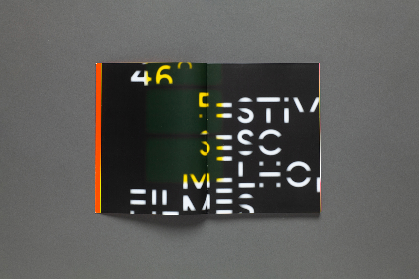branding  Brazil Cinema editorial festival Film   identity motion Movies sesc