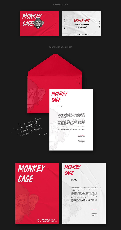 MONKEY CAGE // Print