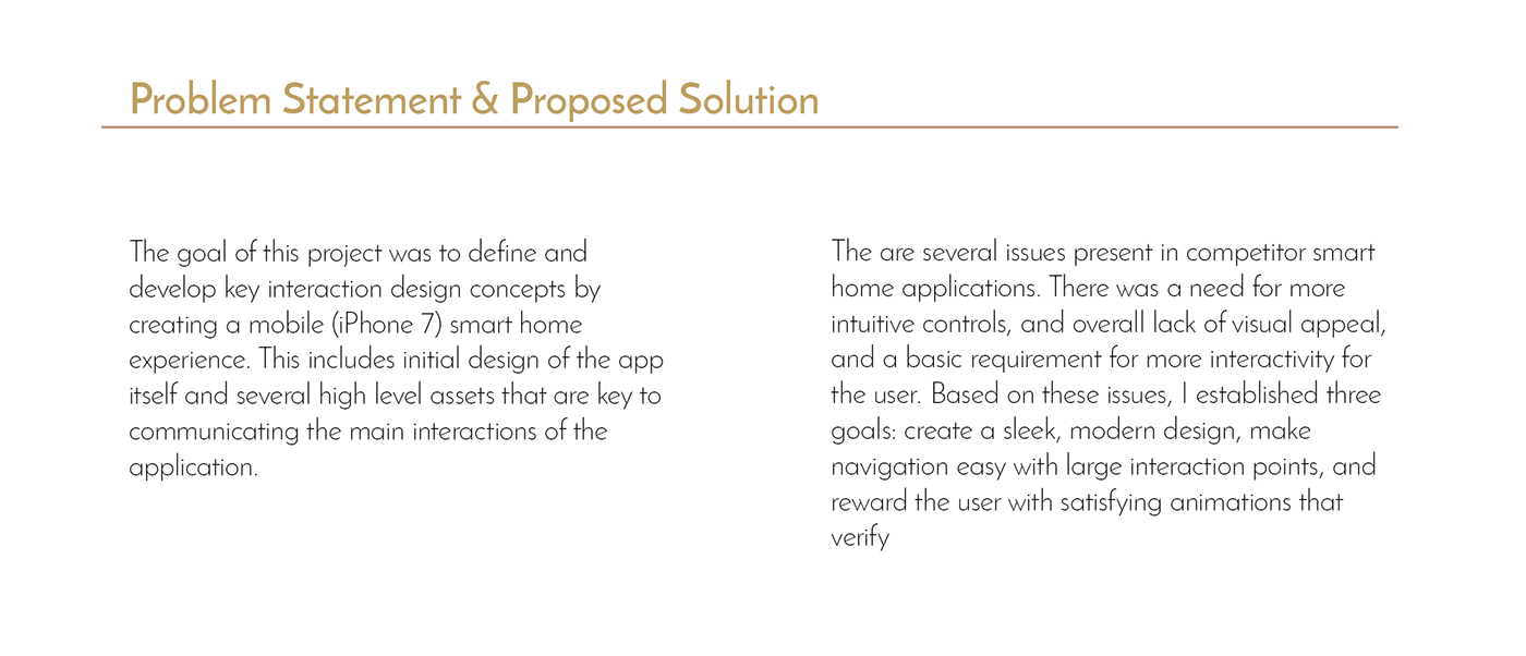 Smart Home app design luxury app home security smart device micro interactions motion graphics  home UI/UX adobeawards