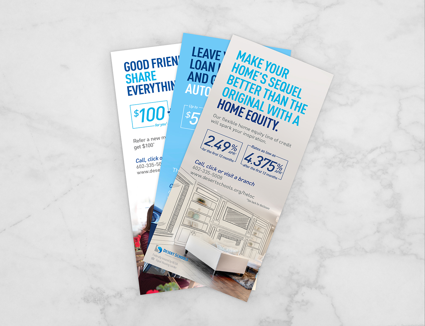 Home Equity Line of Credit with illustration on Behance