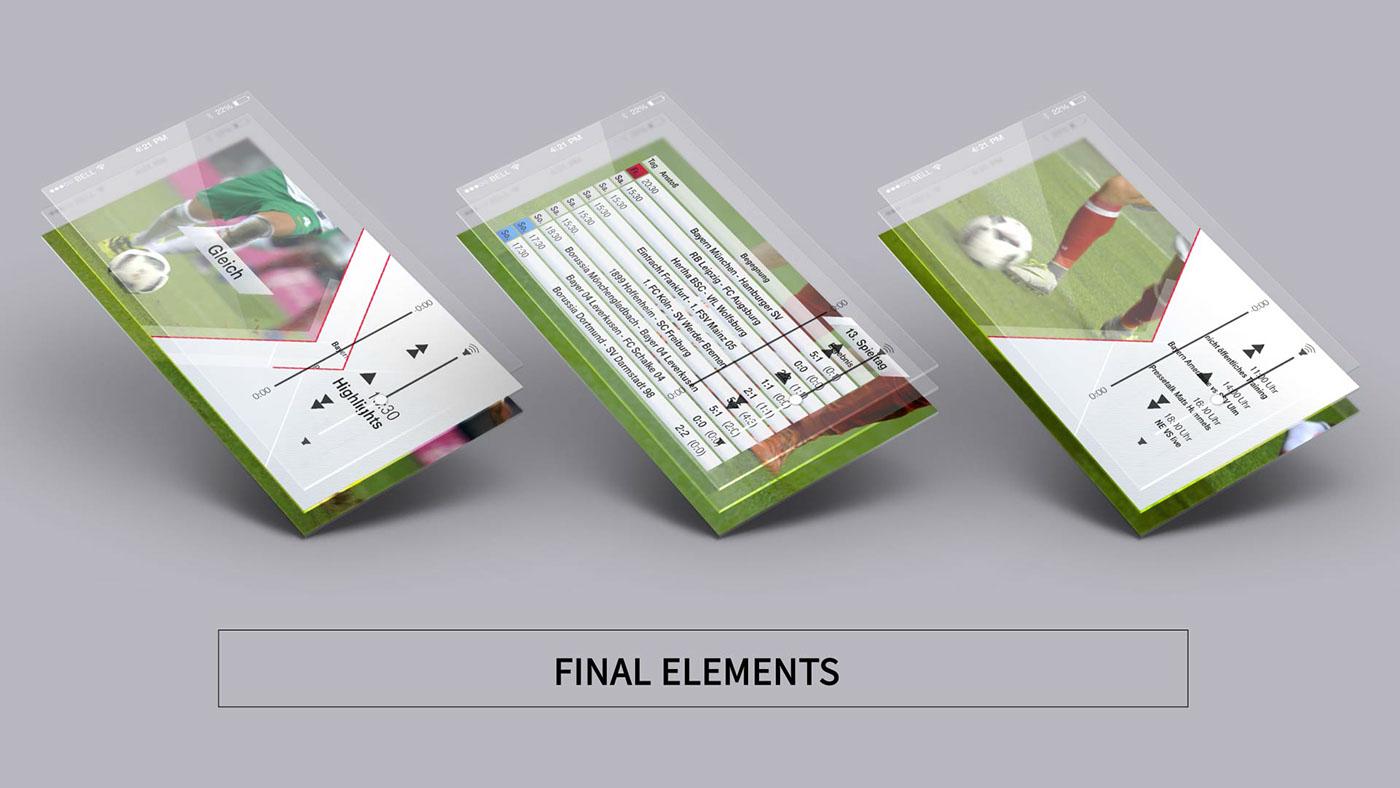 Station Ident Bayern München Football kit football tv sport design sport football soccer intro opener