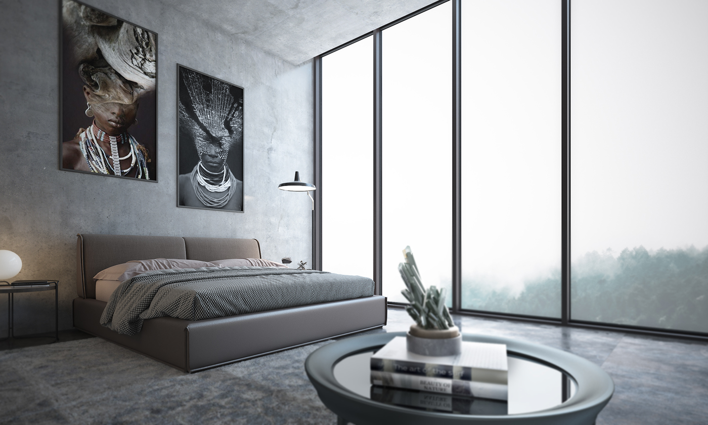 Free 3d Interior Scene Bedroom   Download