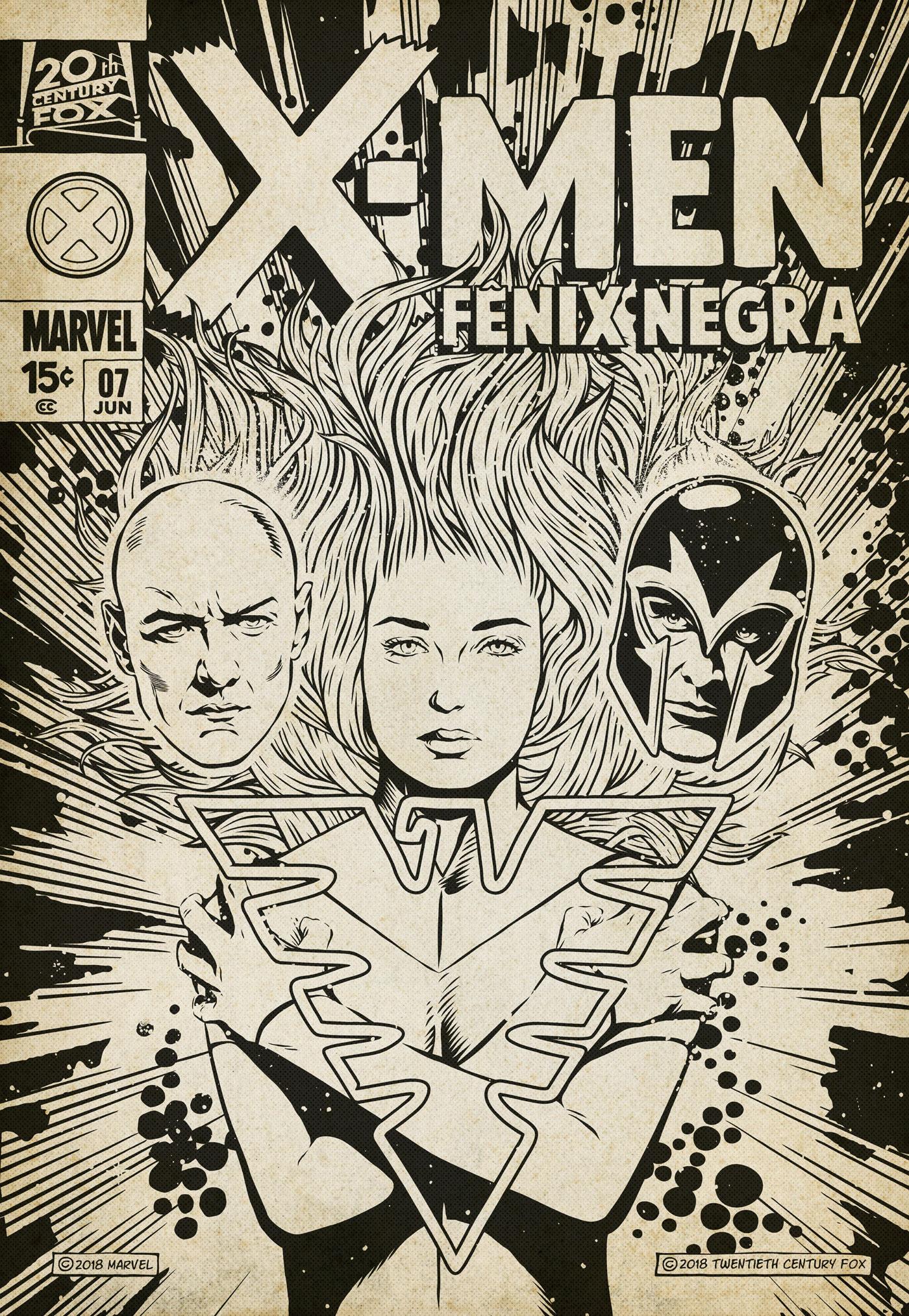 x-men Dark Phoenix marvel Jean Grey comics vintage FOX