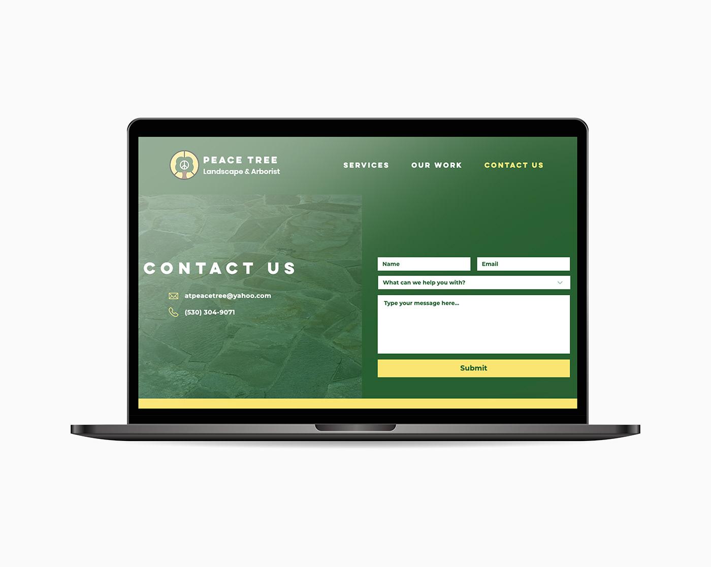 landscaping Web Design  Website