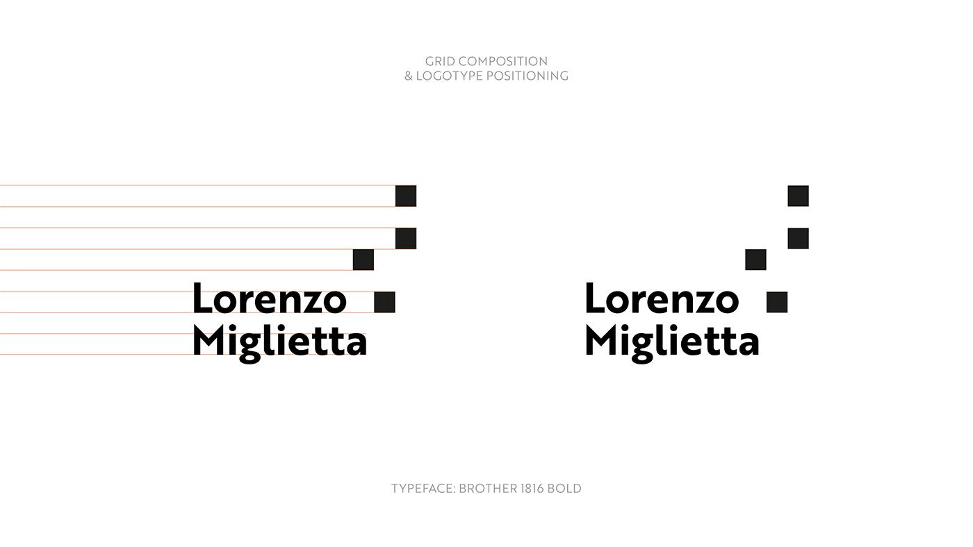 brand identity logo Personal Identity personal logo Personal Brand logo construction sparks lorenzo miglietta inspire