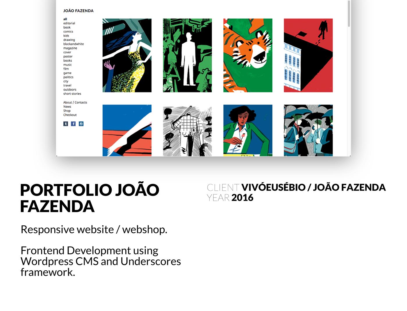 frontend Webdesign wordpress webshop ux