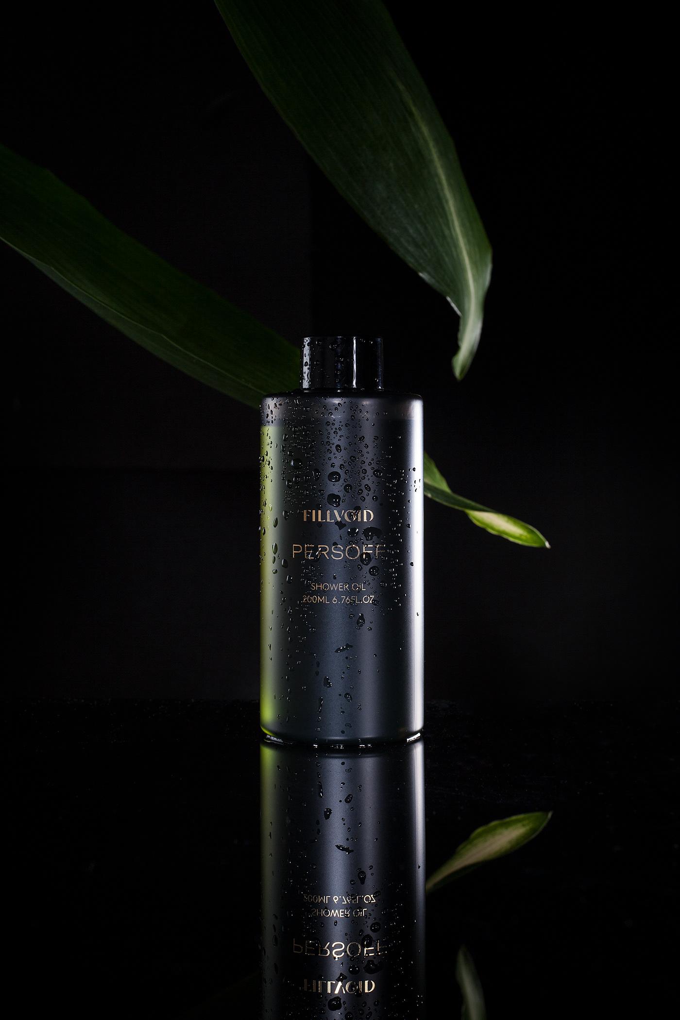 bodywash branding  Fragrance package