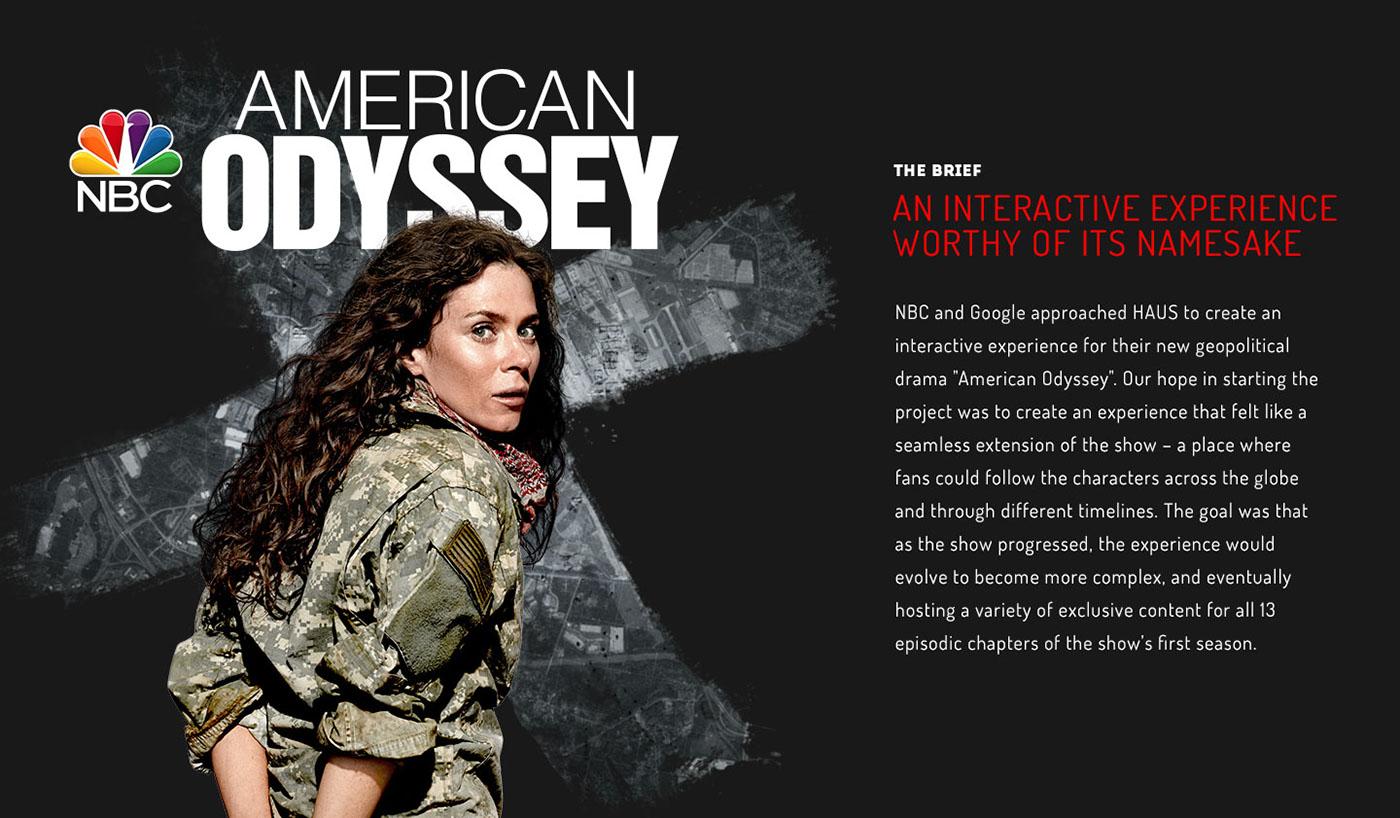 American Odyssey Deutsch