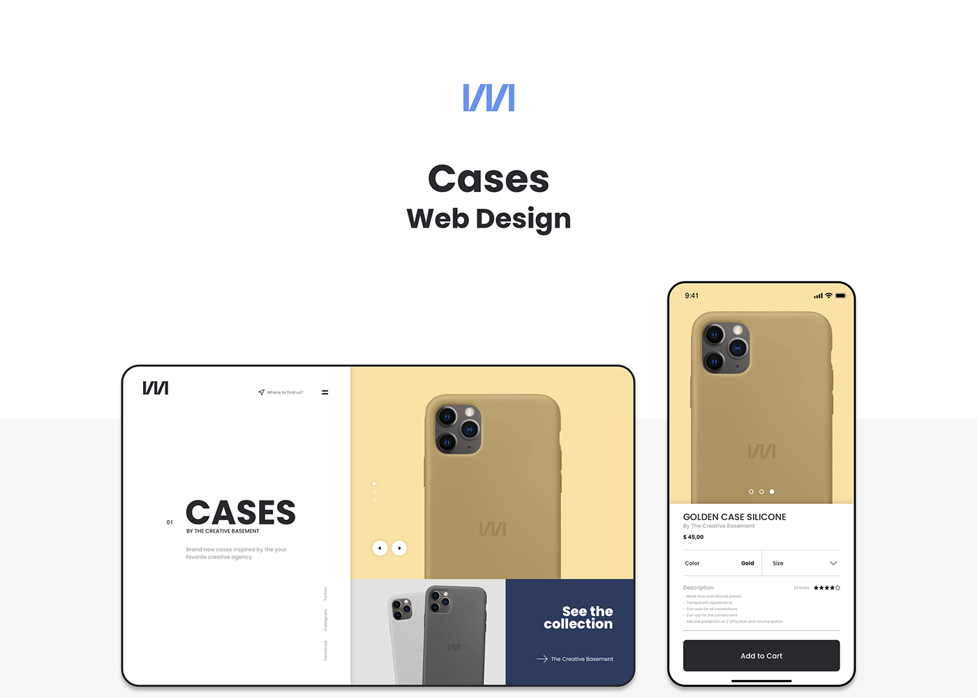 Header for the Cases Project