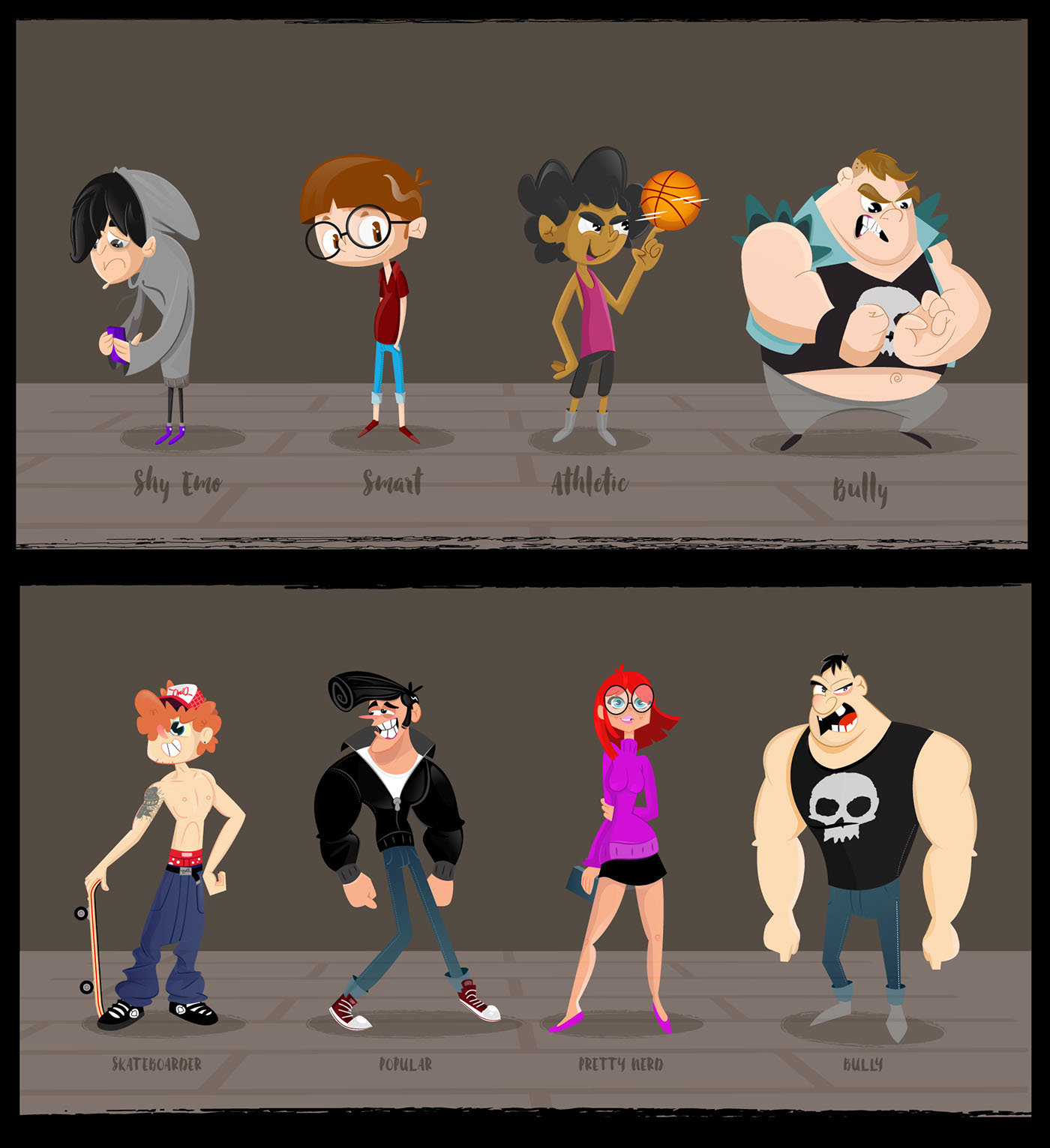 Stephen Silver Character Design App : Schoolism advanced character design class self taught on behance