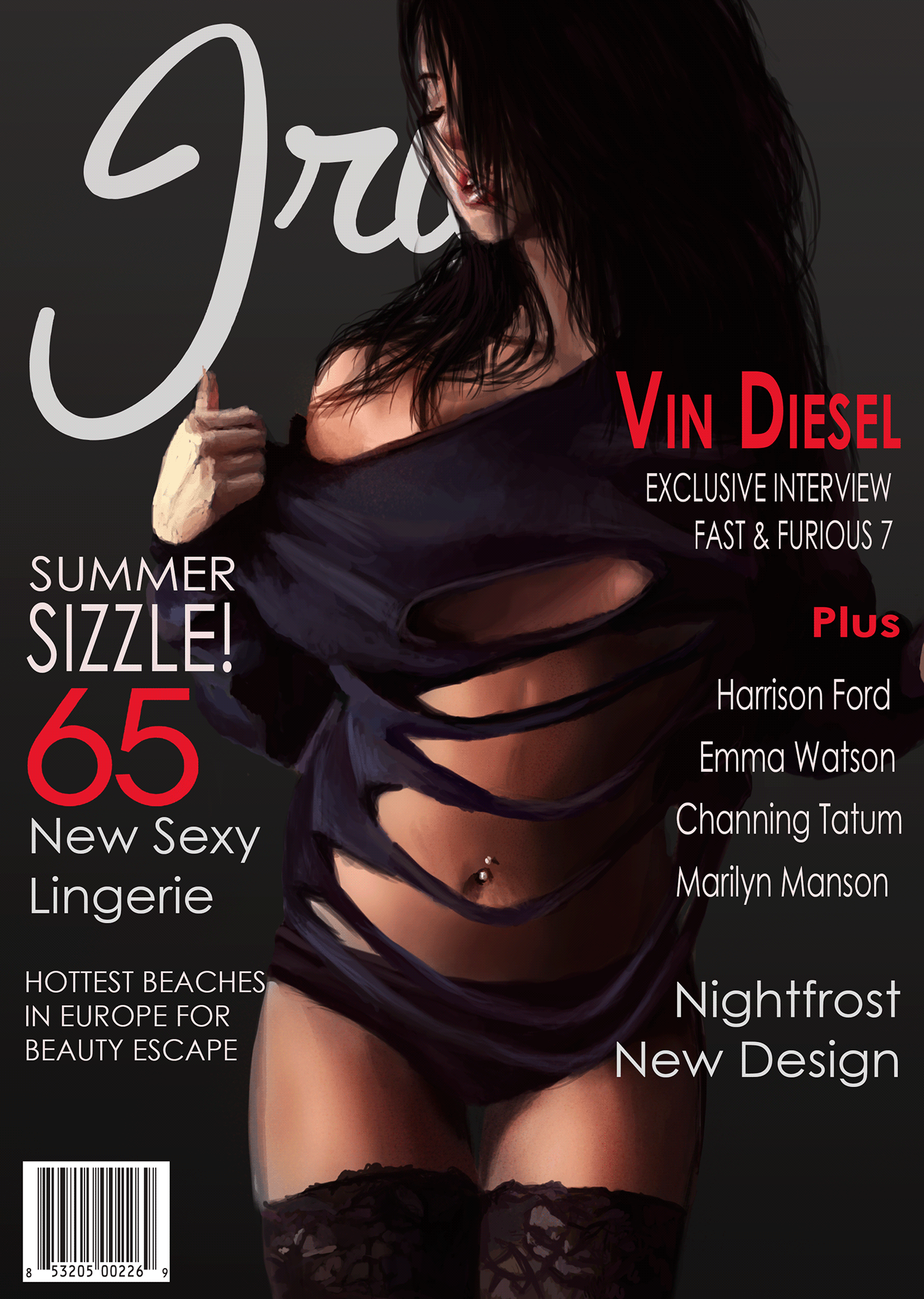 細緻的22款時尚雜誌封面欣賞