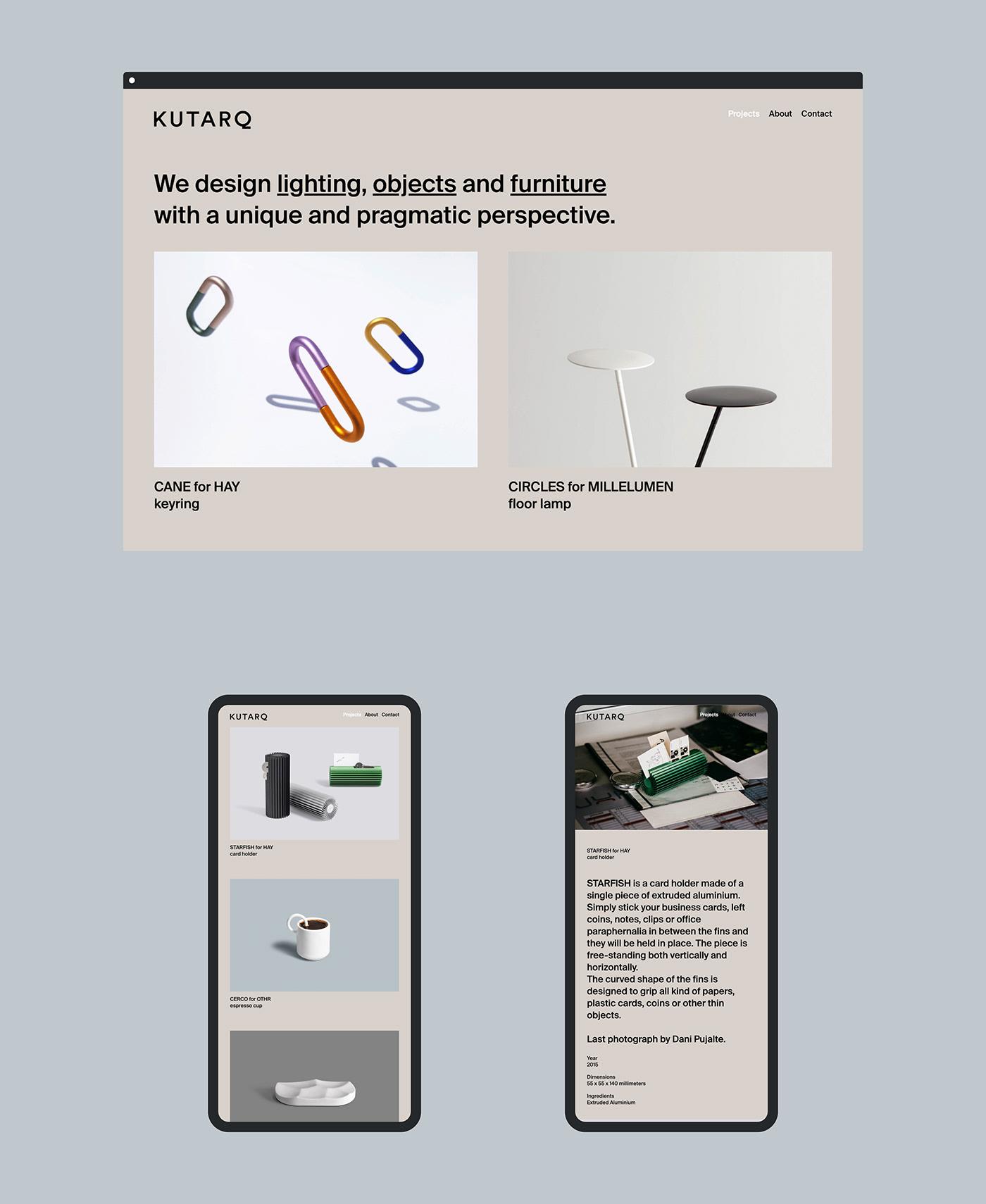 logo Web Design  UI design studio simple clean rebranding minimal business card