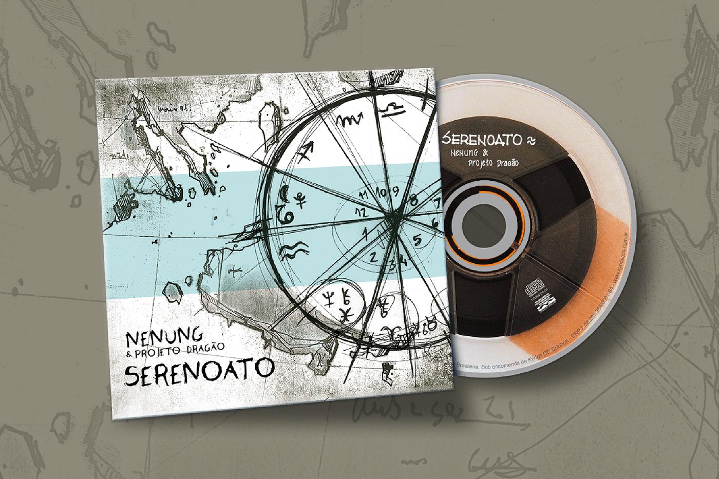 cd diagramação music