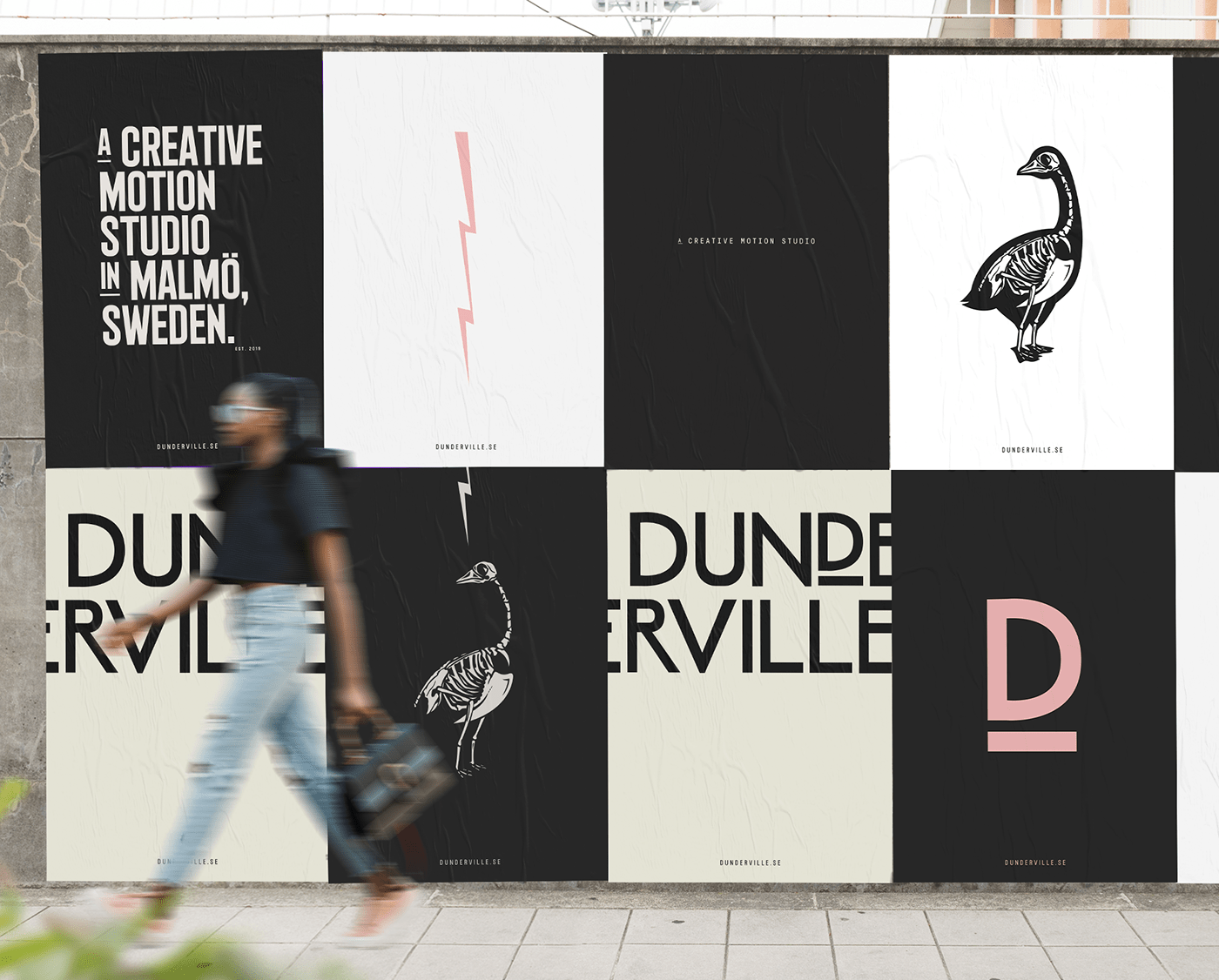 branding  motion portfolio studio typography   Website