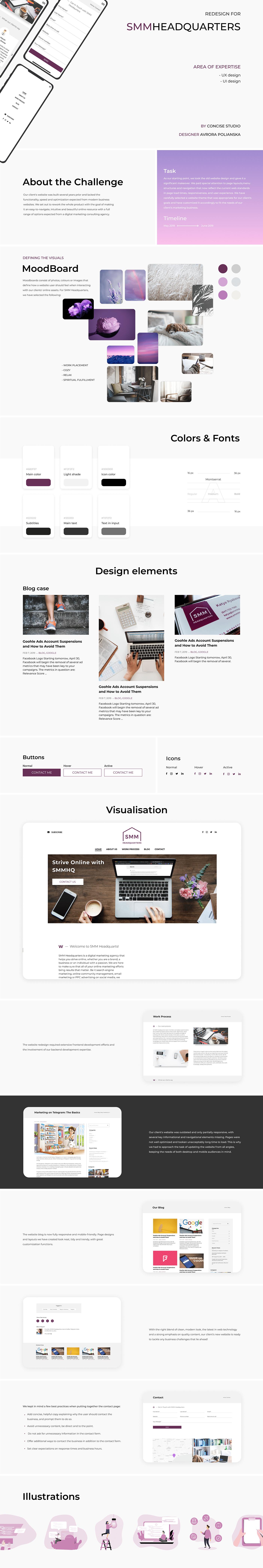 UX design ui design Mobile first design web site