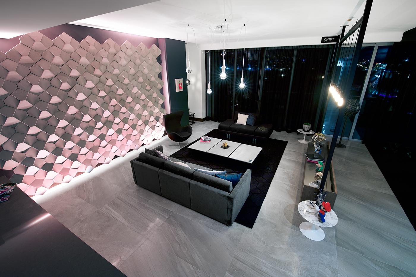 SAQQARA LIVING ROOM on Behance