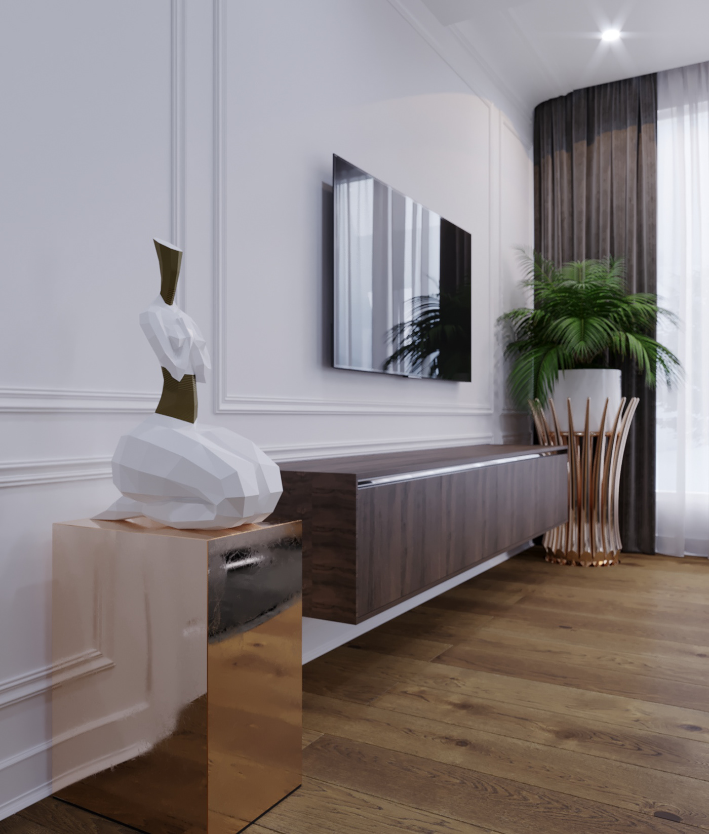 hotel design 3dsmax constanta Interior decor Minotti
