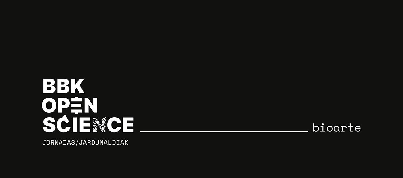 science Web Design  poster identity talks branding  visual identity graphic design  black design contrast