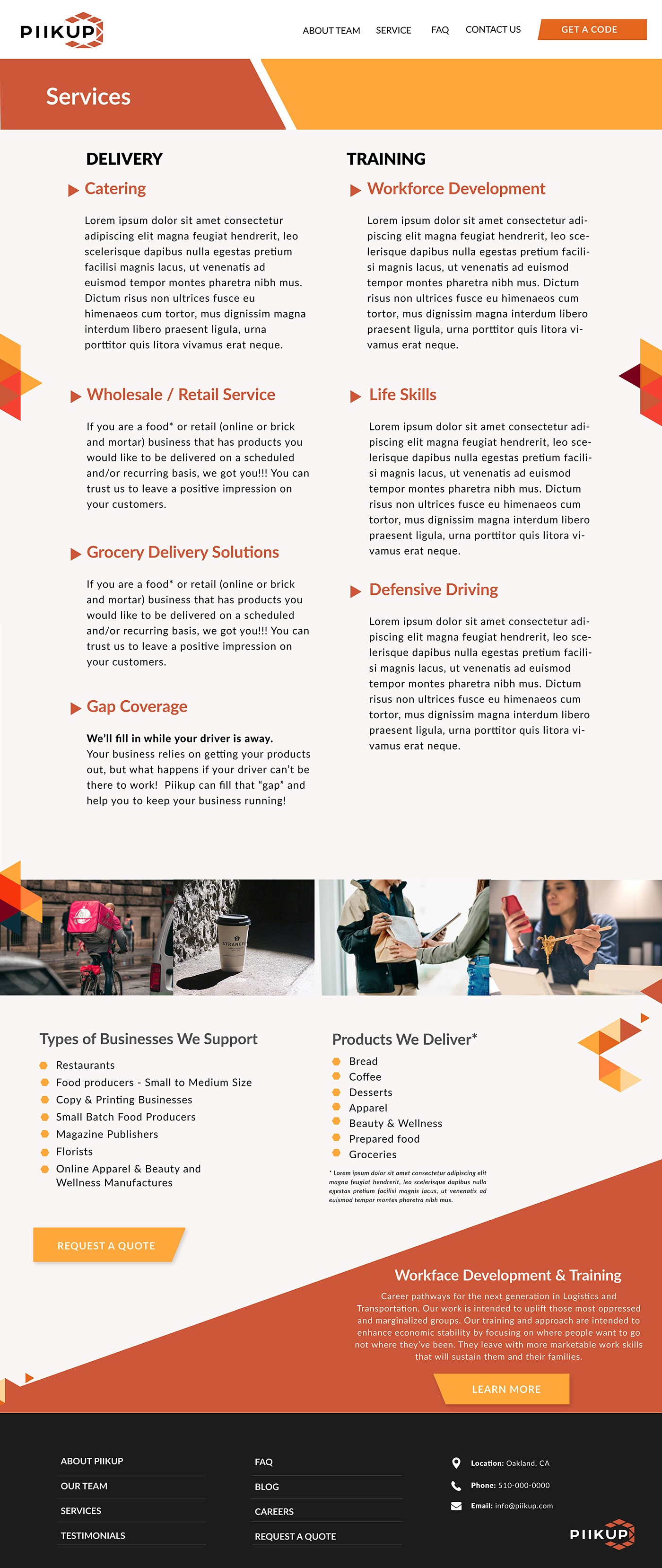 branding  development Webdesign
