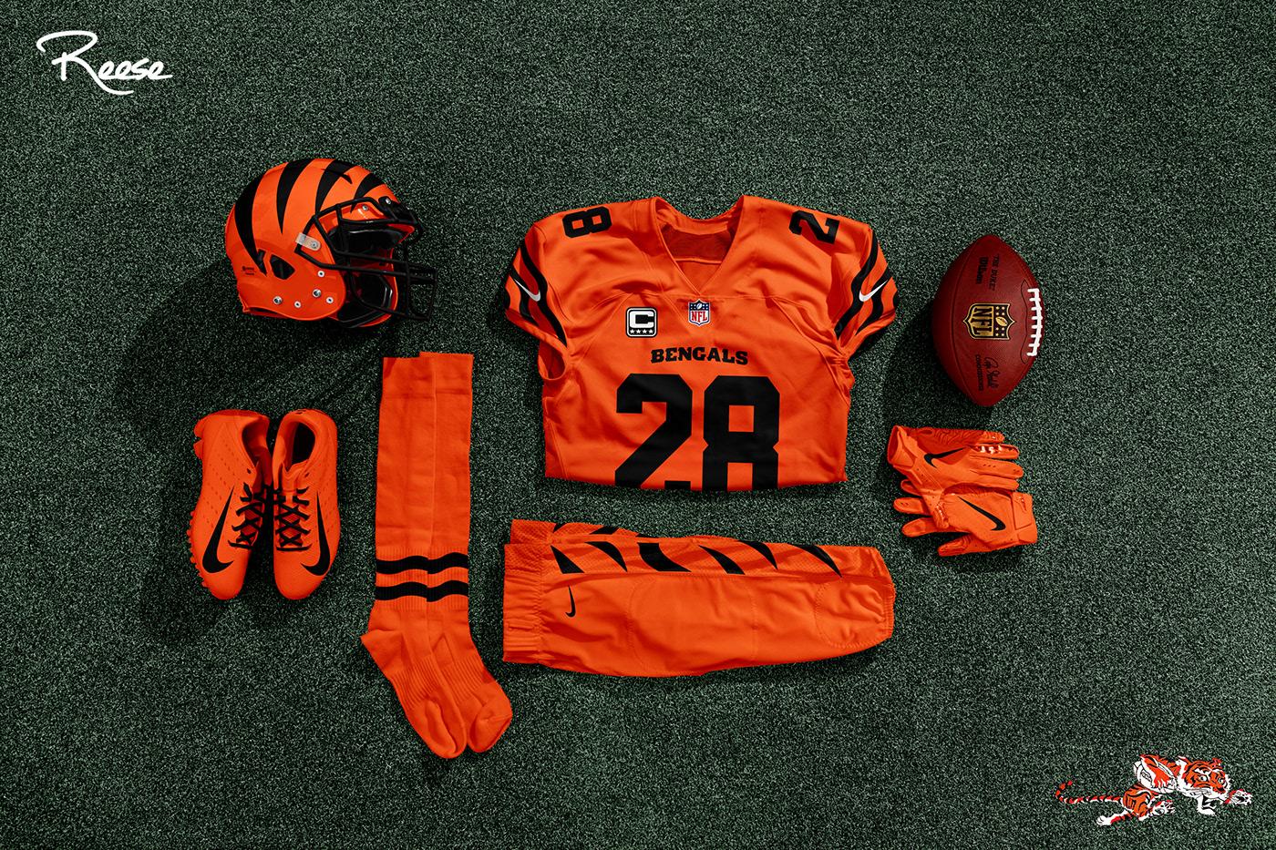 Cincinnati Bengals Uniform Refresh on Behance