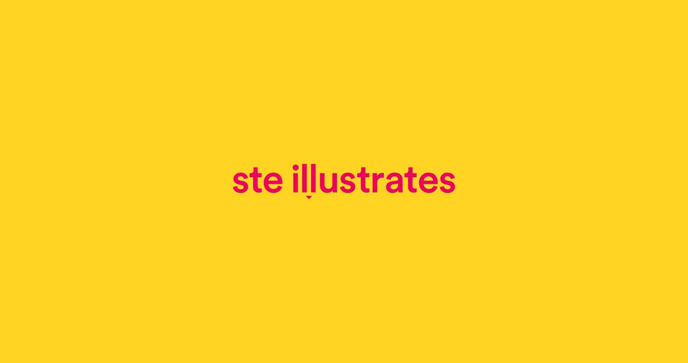 ste illustrates Illustrator Liverpool editorial