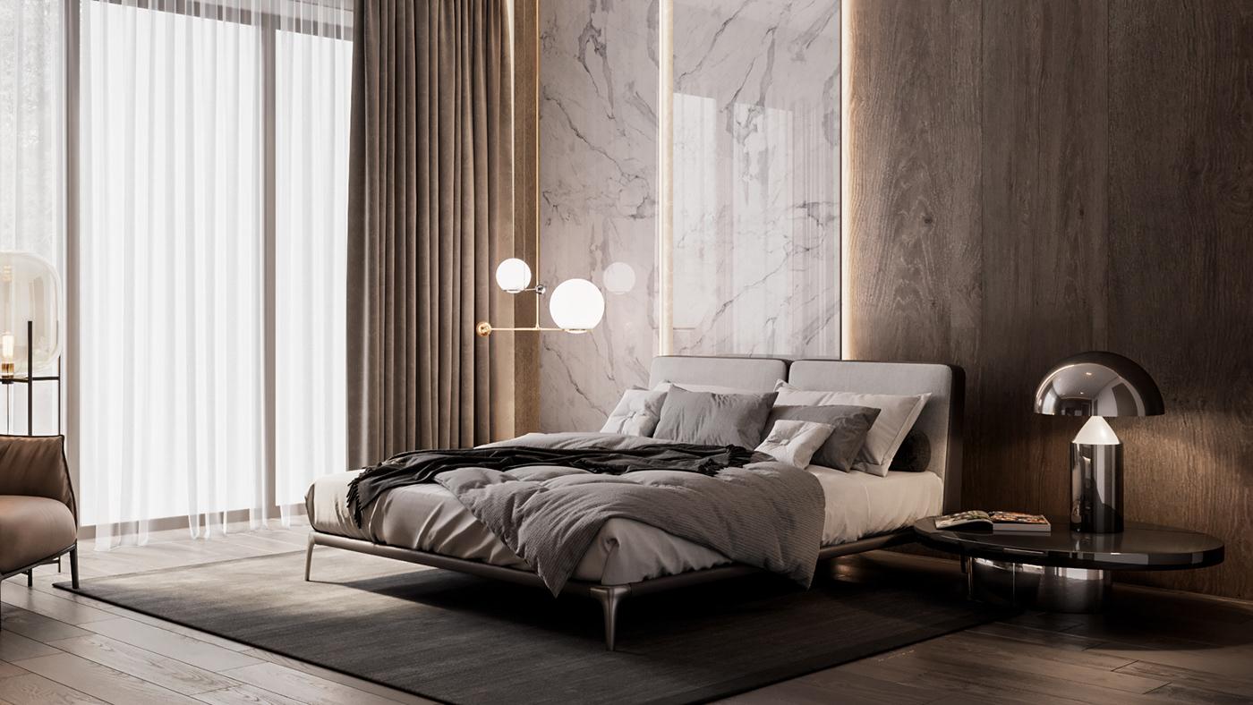 完美的44張臥室設計欣賞