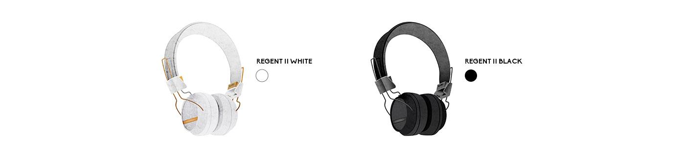 brand Composer design headphones ILLUSTRATION  Pack Packaging people portrait product