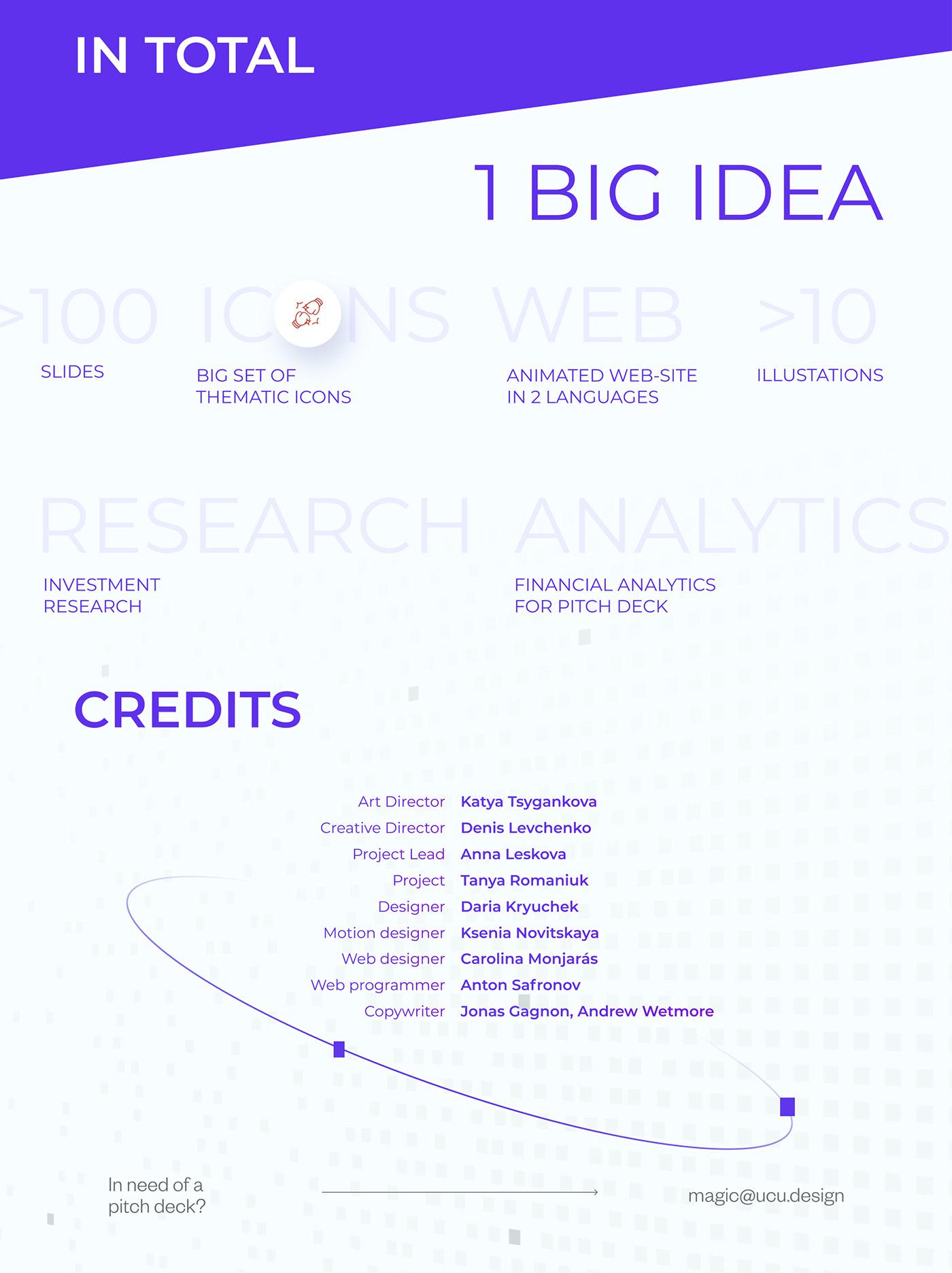 IT presentation Project Logotype pitch deck pitchdeck Website