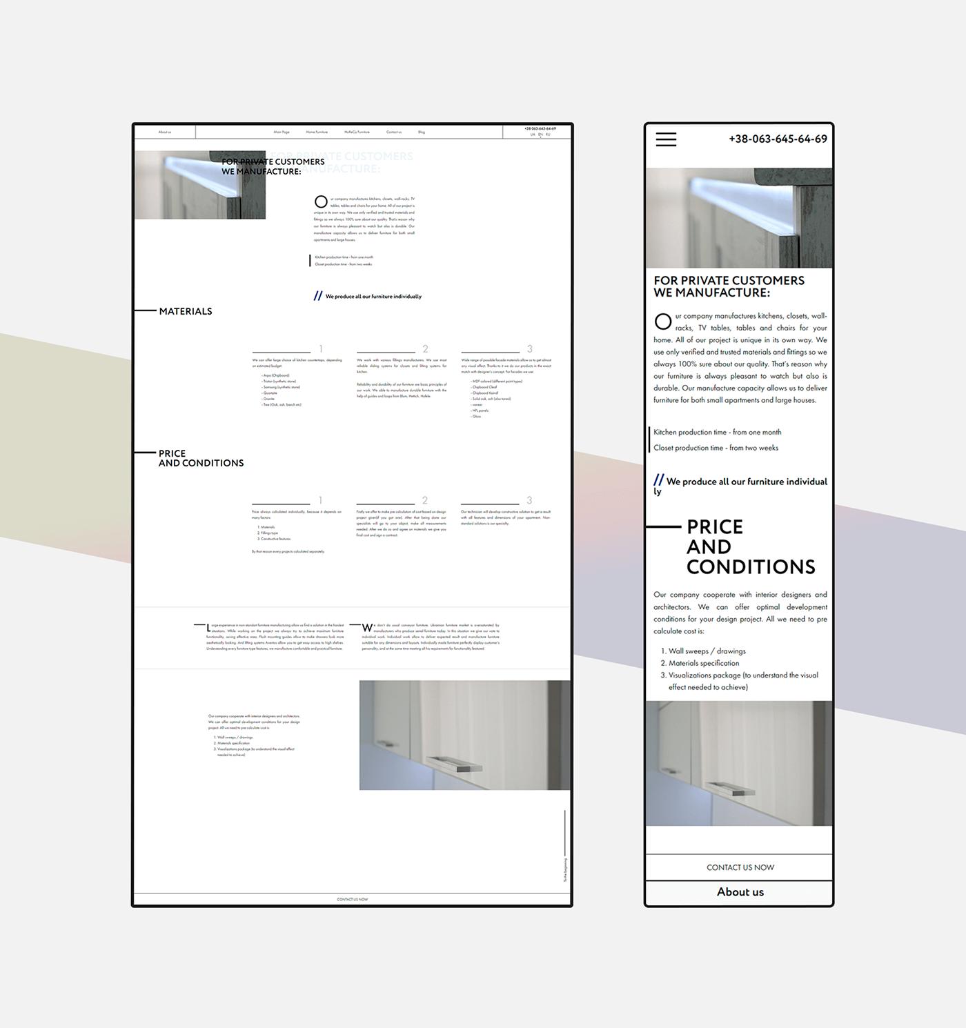 furniture UI animation  identity interaction Interior minimal typography   Webdesign wood