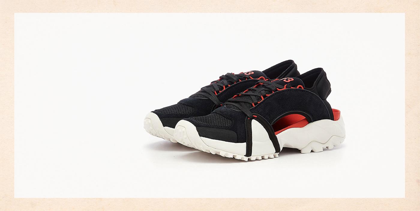adidas AdidasY-3 footweardesign sneakers Y-3 yohjiyamamoto