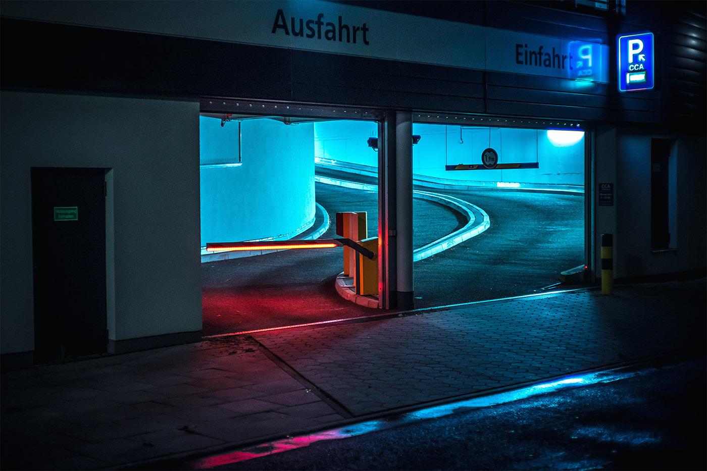 night lowlight hamburg Street