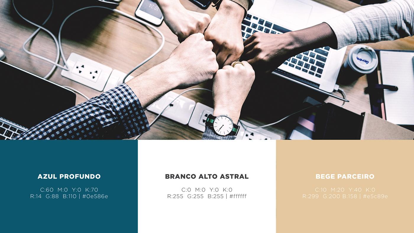 branding  marca logo identidade visual manual Projeto de Identidade Logotipo coaching