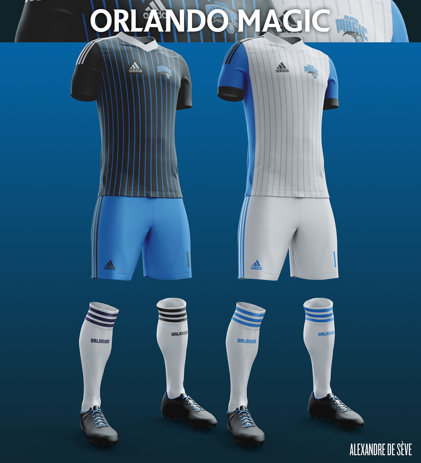 Talisman & Co. | Orlando Magic Soccer Concept Kit