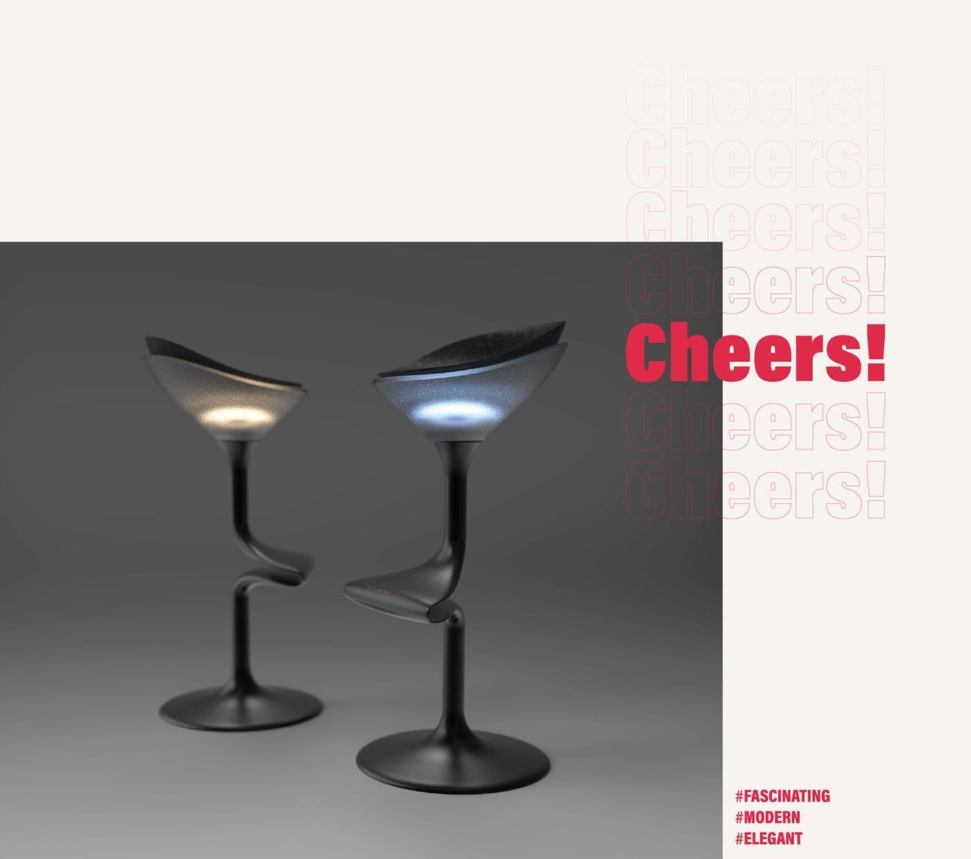 bar chair cocktail drink firniture glass height highstool stool wine