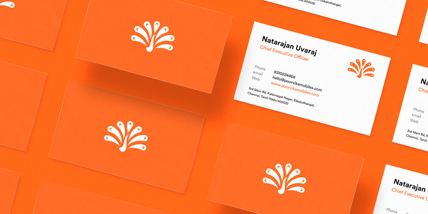 Poorvika Business Cards