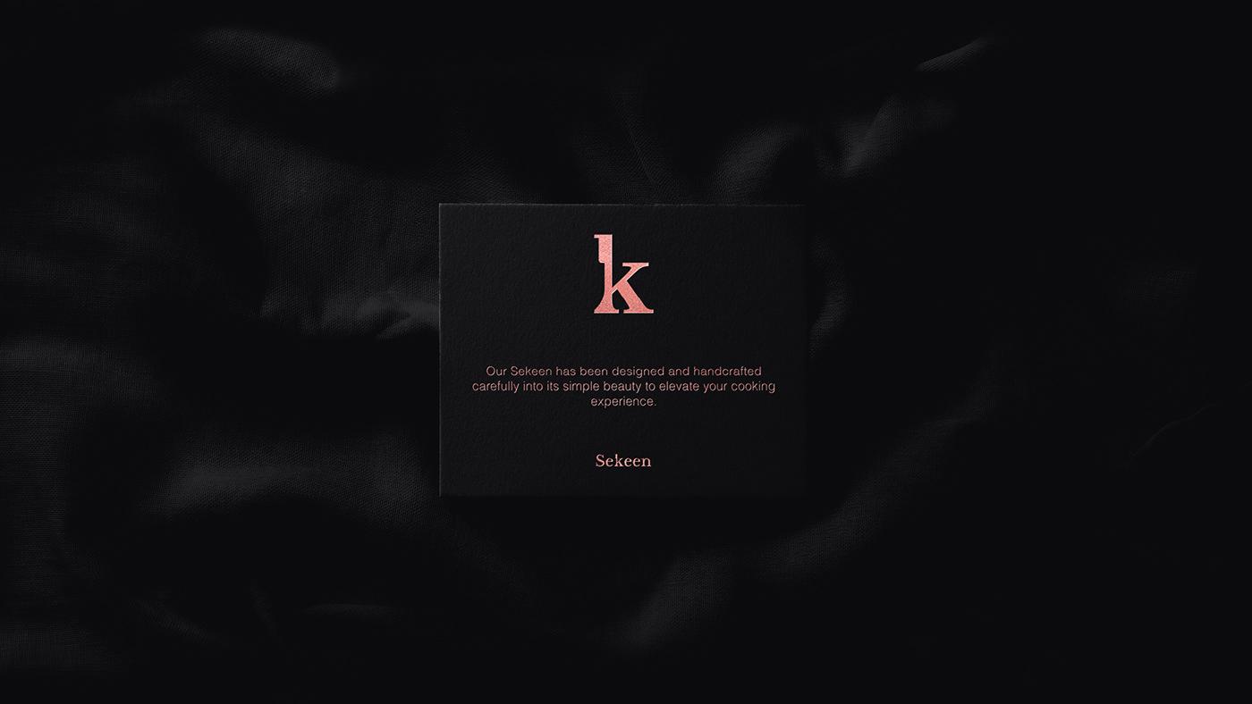 branding  logodesign Stationery KnifeDesign identity