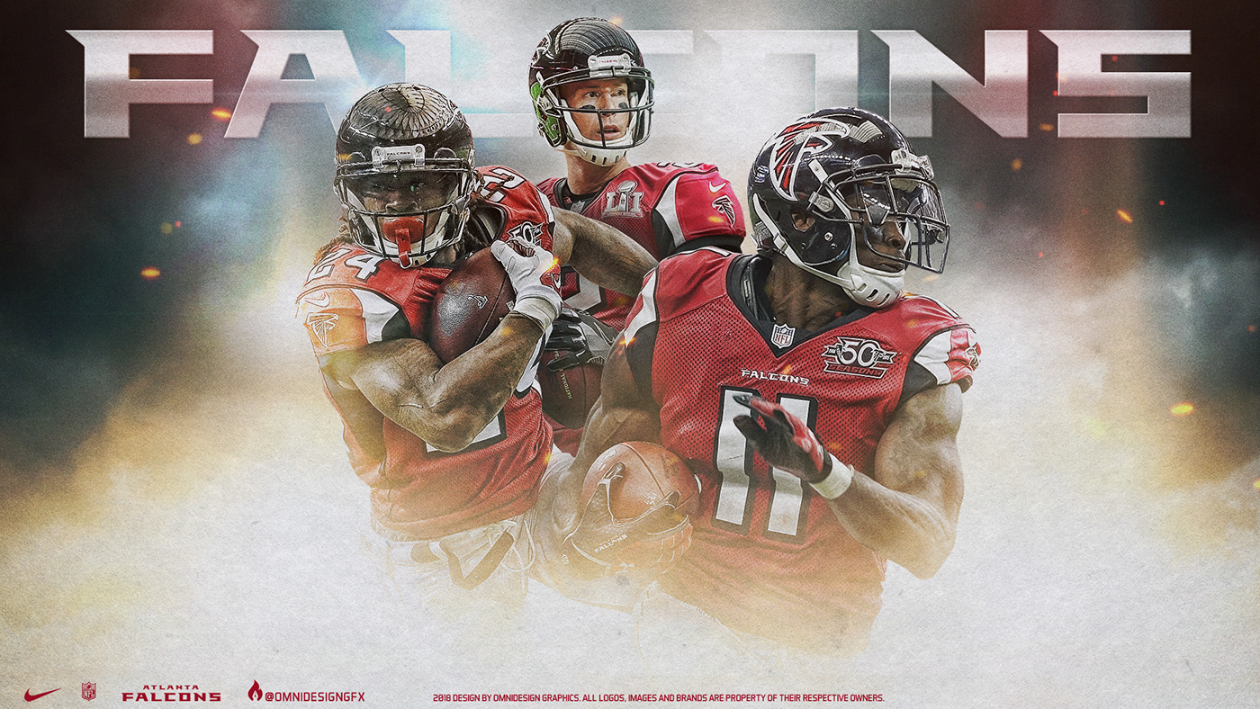Falcons Iphone Wallpaper: Atlanta Falcons Desktop Wallpaper On Behance