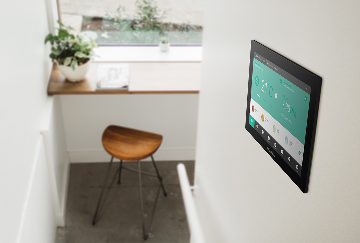 HEIMA - Smart Home Automation UI Concept on Behance