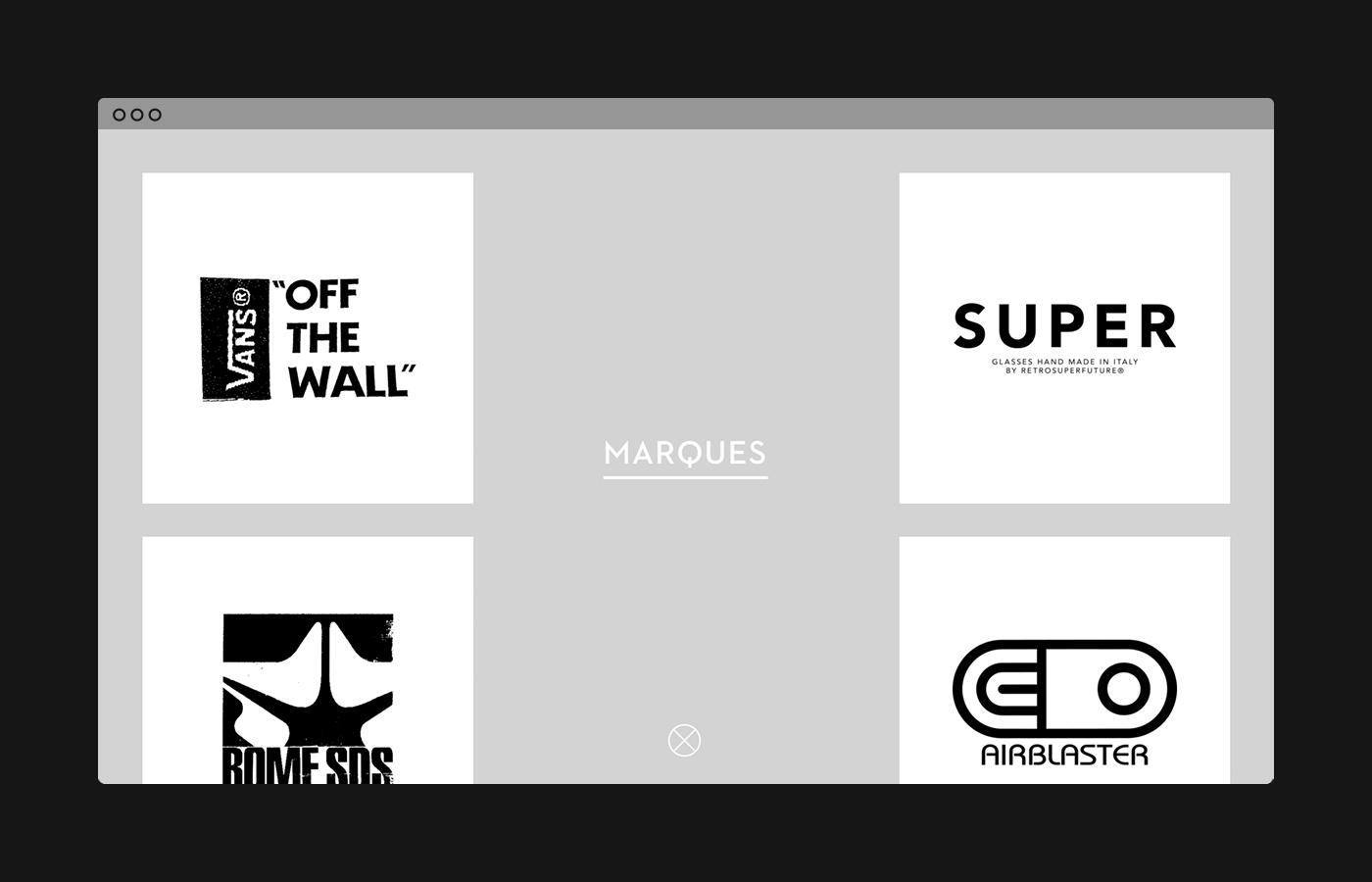 brand logo Logotype lifestyle agency monogram streetwear Clothing crest Onepager