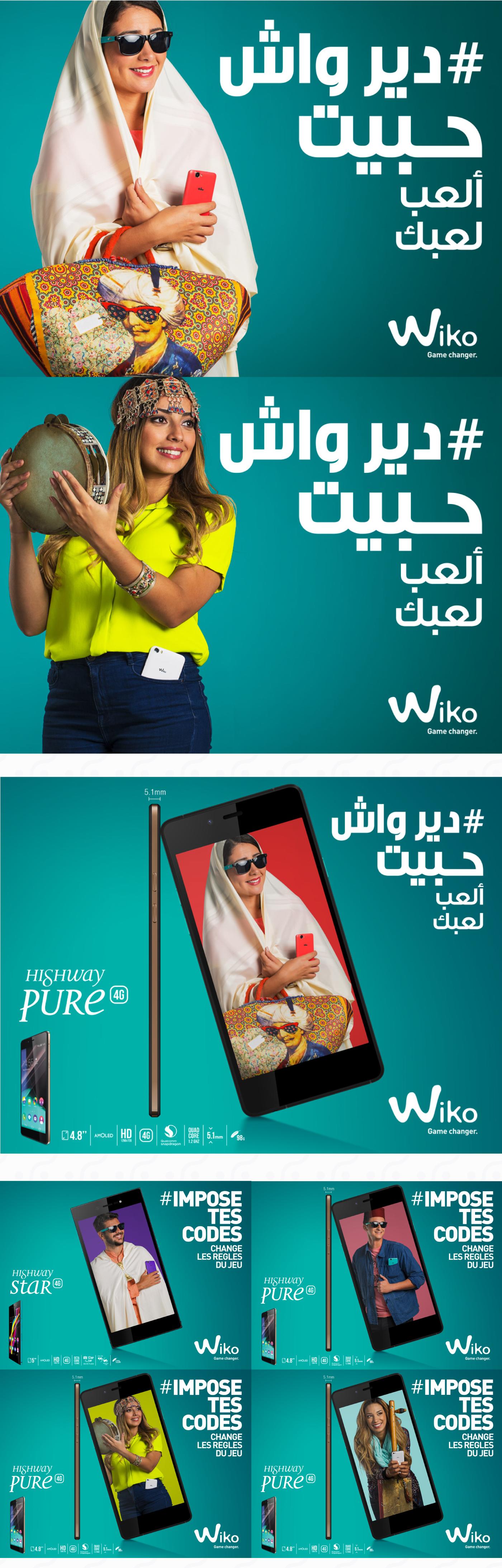 wiko,Algeria,phone,design,Fashion ,origins,arabic,Berber,Style,colors