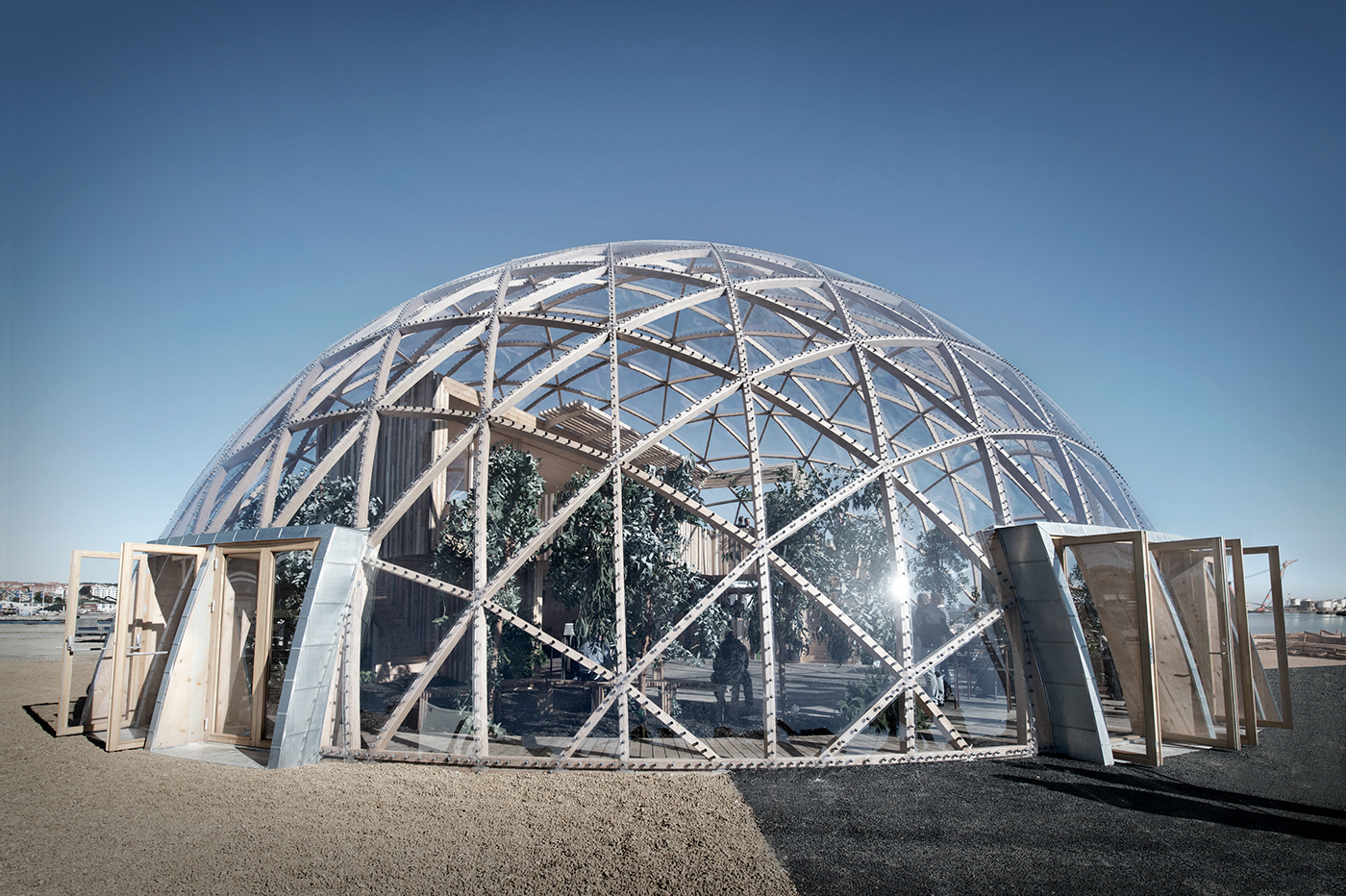 And look further into the dome at