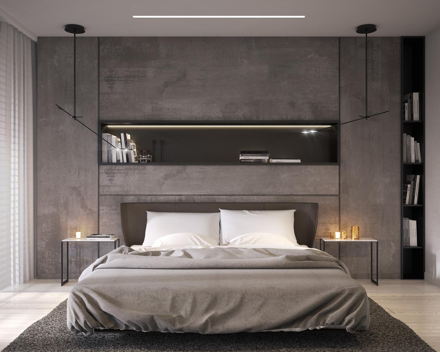 有獨特感的44款臥室設計欣賞