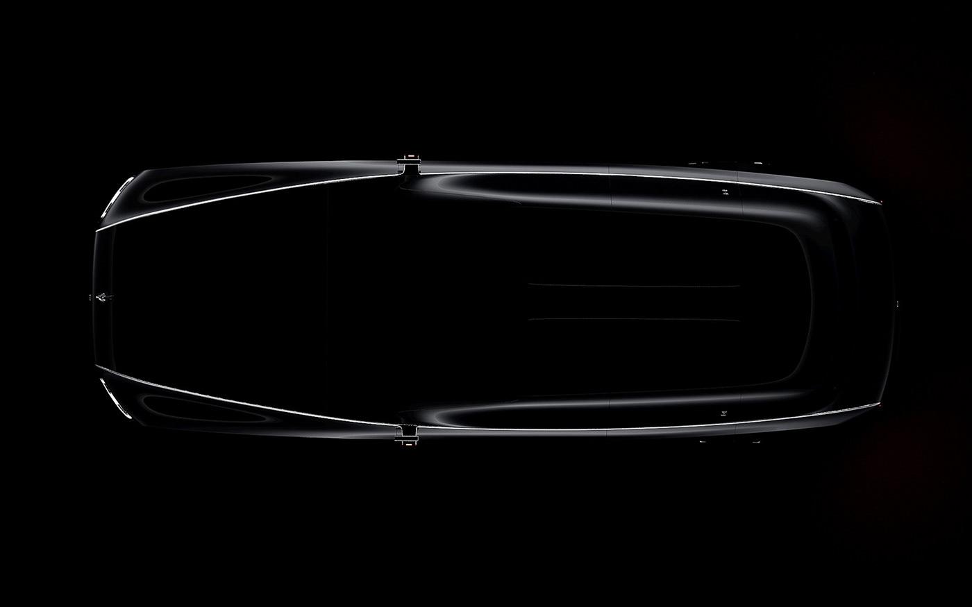 art car design digital emotion luxury Render rolls royce sketch transportation