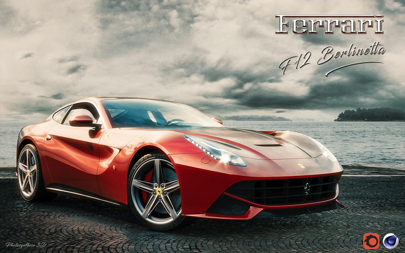 Ferrari f12 Berlinetta - Corona material pack