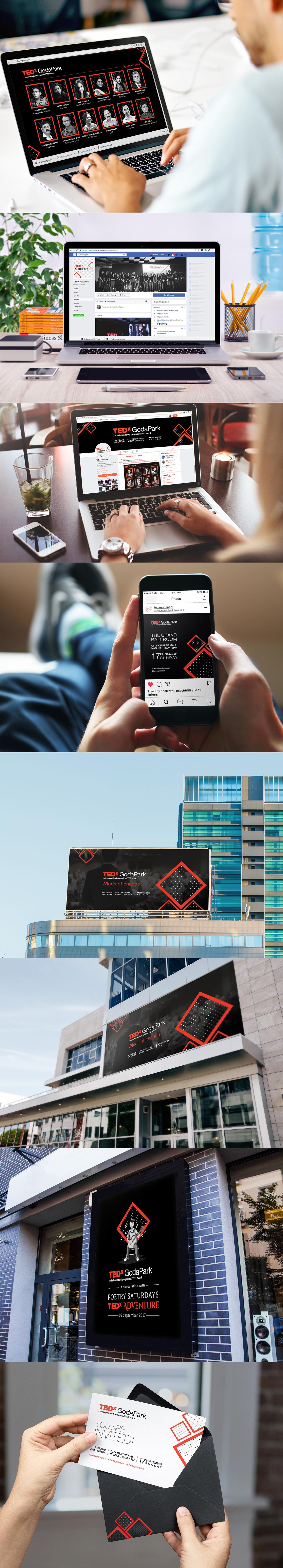 TEDx GodaPark TED TEDx Event Branding #Nashik Startup Farms