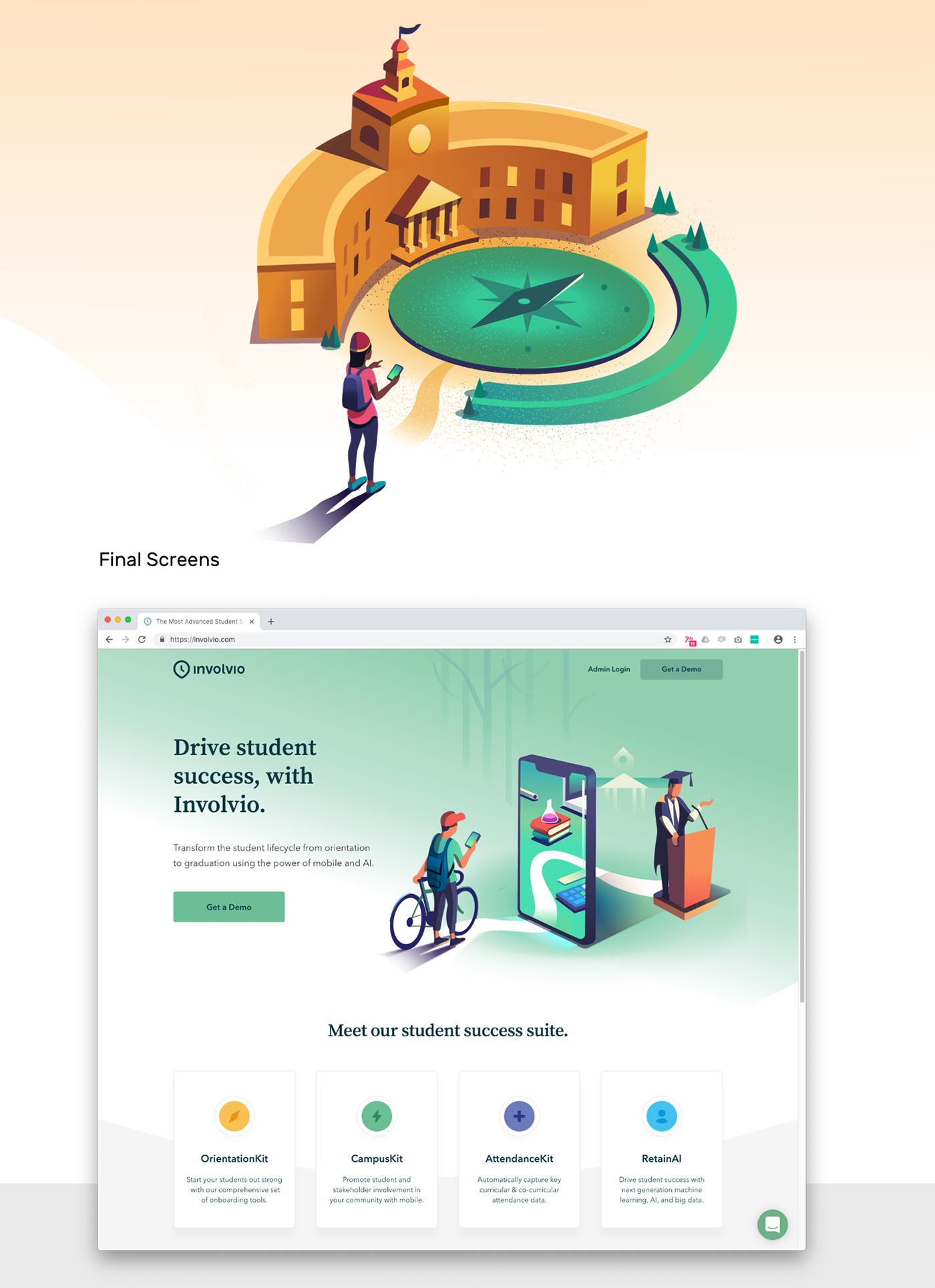 Collaboration ILLUSTRATION  motion design product illustration Story telling ux/ui visual design visual language Web Web Experience